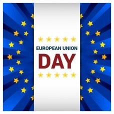欧洲联盟日贺卡