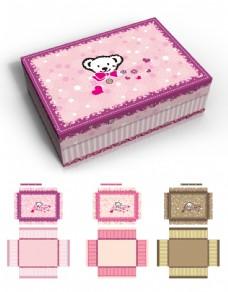韩国风格礼盒设计三种配色