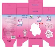 包装设计  儿童包装  奶瓶包装