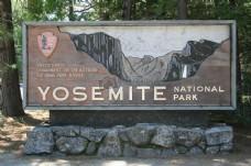国家公园的标志