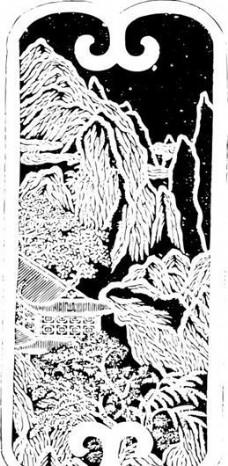 清代下版画 装饰画 中华图案五千年 矢量 AI格式0013