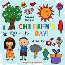 儿童节画图标收藏
