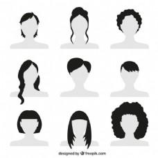 妇女的发型