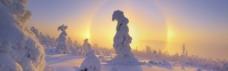 1920阳光下的雪景背景素材 (103)
