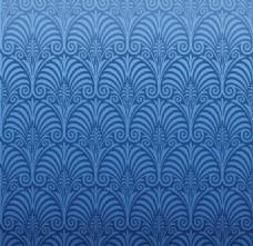 蓝色花纹背景