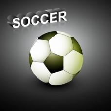黑白格子的足球