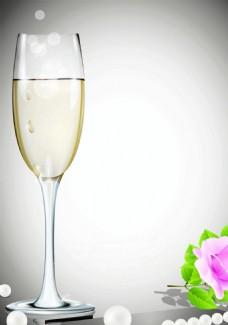 香槟背景装饰