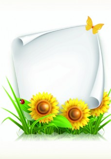 植物边框背景装饰