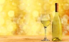 黄色香槟酒图片