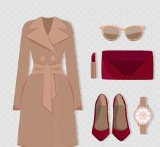 时尚女性服饰和配饰图片