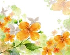 唯美鲜花海报背景