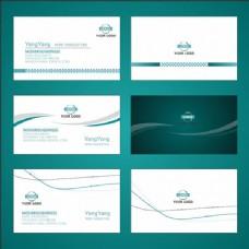 商务简洁名片设计模板cdr素材下载