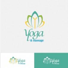 摘要瑜伽标志