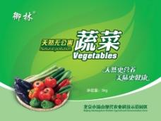 无公害蔬菜包装PSD,蔬菜包装,青菜