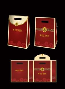 西藏特产礼袋包装