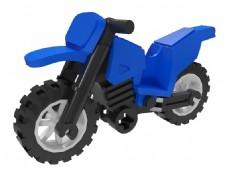 乐高积木摩托车2