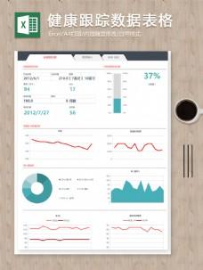 个人健康跟踪数据表格