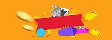 电商卡通创意背景banner