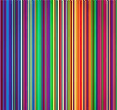 彩色竖条纹背景矢量素材图片