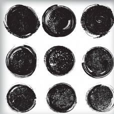 黑色墨迹图片