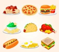 美味快餐 食物图片