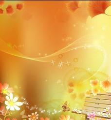 秋季海报 枫叶图片