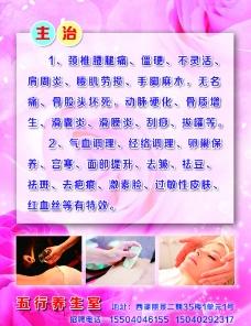 中医五行养生海报图片
