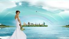 城市海景图片