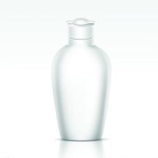 时尚白色洗化用品瓶子图片