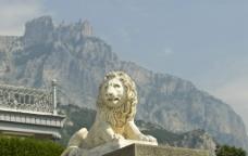 英国石狮子图片
