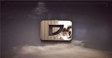 时尚的公司logo演绎动画AE模板