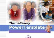 儿童课件实用PPT模板免费下载
