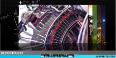 超多图片展示用的AE模板