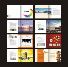 广告公司企业画册设计矢量素材