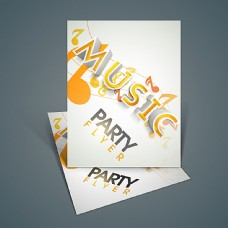 音乐派对海报设计