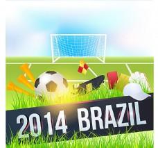 创意巴西世界杯海报