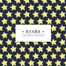 微笑的星星图案