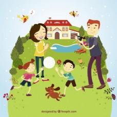 快乐的家庭有乐趣