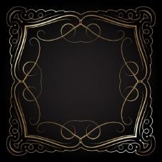 用金色的框架