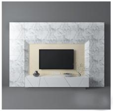 大理石电视墙