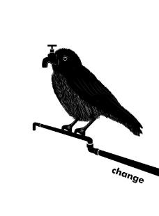 AI 创意 小鸟(主题-转变)图片