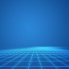 蓝色科技淘宝主图