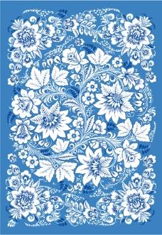 青花瓷背景素材淘宝海报背景装饰背景