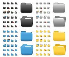 彩色文件夹图标
