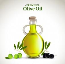 精美橄榄油设计矢量素材