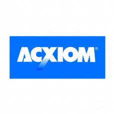 ACXIOM公司蓝色A字母LOGO设计