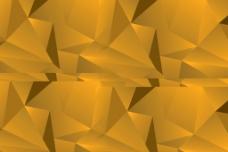 黄色几何菱形背景图片