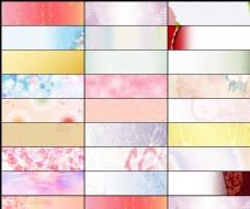 25款淘宝日系暖色广告背景图片素材