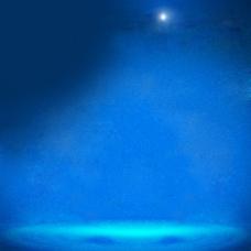 蓝色磨砂效果