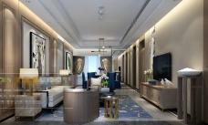 中国风大型客厅